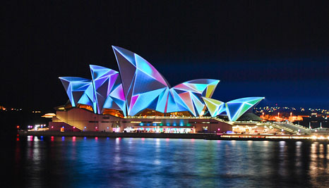 Vivid Sydney starts 27 May